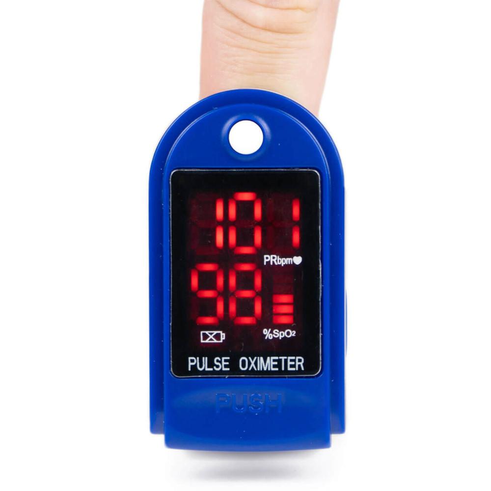 Портативный пульсоксиметр CONTEC CMS 50DL - фото 1