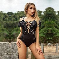Сексуальный черный купальник, размер М