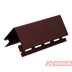 Наружный угол Vinylon (коричневый)