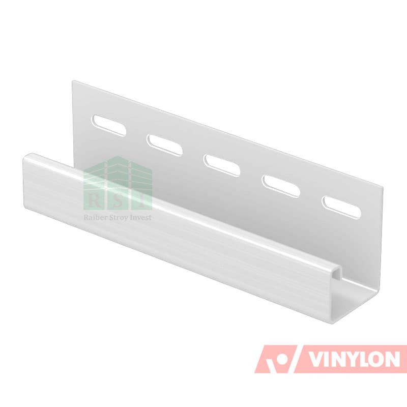 Планка J-Trim Vinylon (белая)