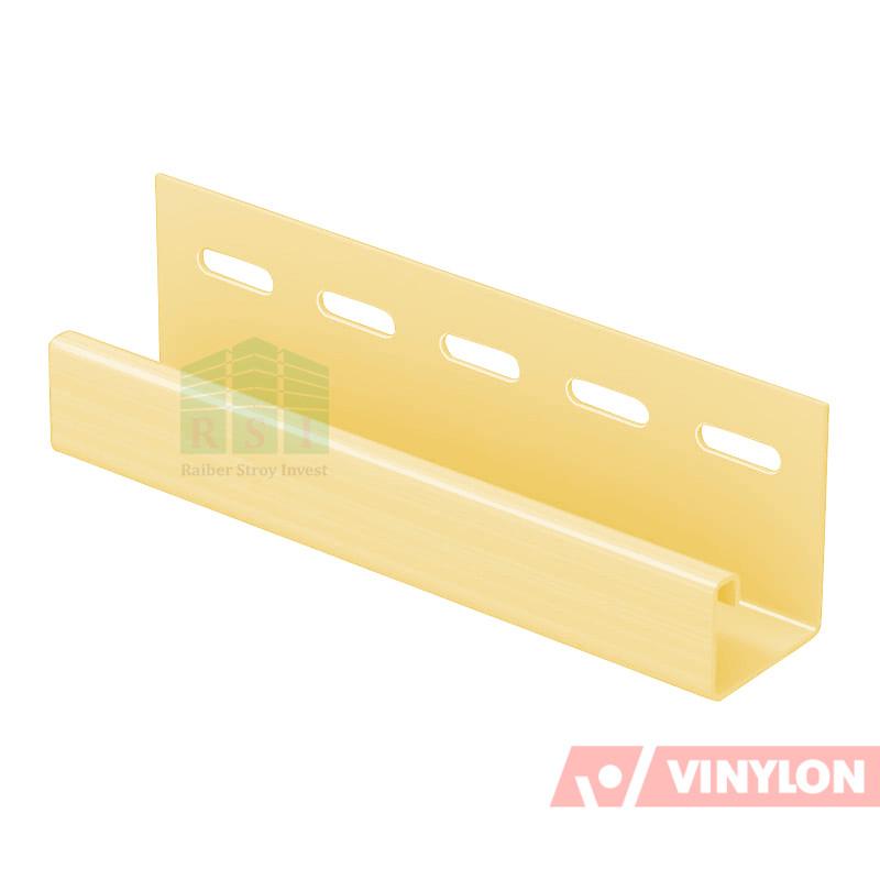 Планка J-Trim Vinylon (кремовый)