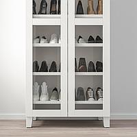 ОПХУС Гардероб с полкой для обуви, белый, Вэрд белый, 80x42x191 см