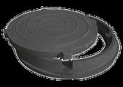 Люк канализационный полимерно-песчаный  (грузоподъёмность 1,5 тонны), фото 3
