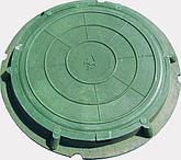 Люк канализационный полимерно-песчаный  (грузоподъёмность 1,5 тонны), фото 2