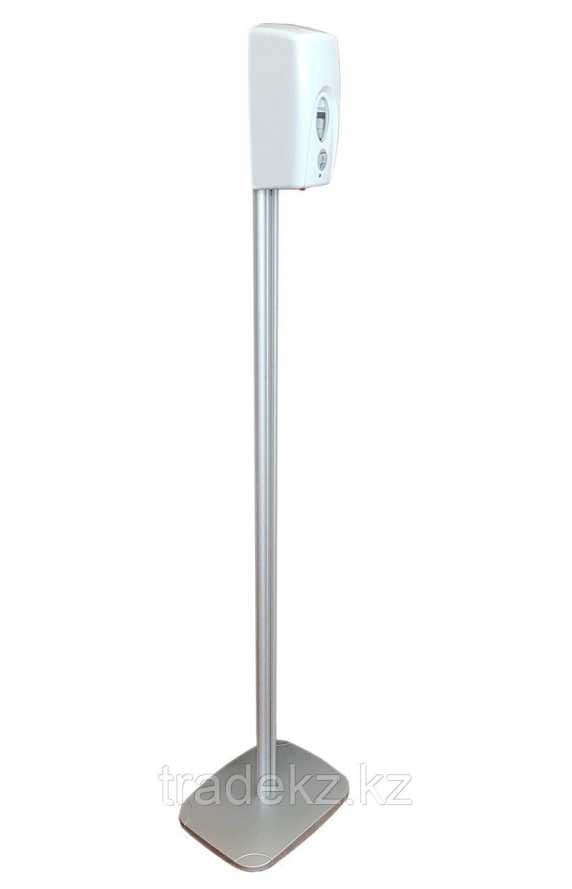 Стойка с сенсорным дозатором для дезинфекции рук САП-1400-В-ССД-500