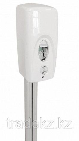 Стойка с сенсорным дозатором для дезинфекции рук САП-1400-В-ССД-500, фото 2