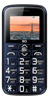 Мобильный телефон BQ-1851 Respect (Blue)