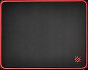 Коврик для мышки игровой Defender Black M 360x270x3 мм, ткань+резина