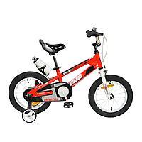 """ROYAL BABY Велосипед двухколесный SPACE NO.1 STEEL 16"""" Красный RED"""
