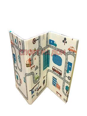 Детский напольный складной коврик (Габариты: 1,7 х 1,1 метра), фото 2