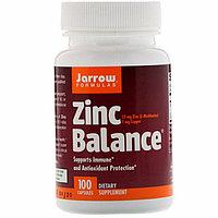 Цинк баланс, Jarrow Formulas, 100 капсул