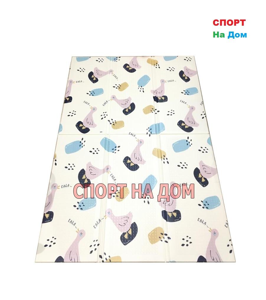 Детский напольный складной коврик (Габариты: 1,7 х 1,1 метра)