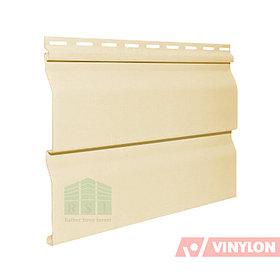 """Сайдинг панель Vinylon D4.5"""" Dutchlap (птичье молоко)"""