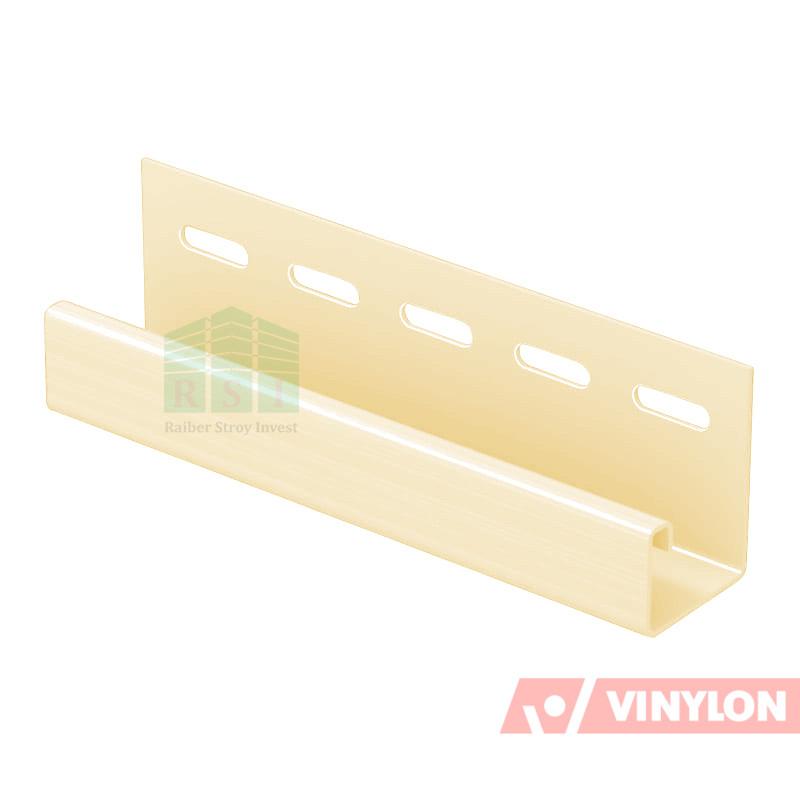Планка J-Trim Vinylon (птичье молоко)