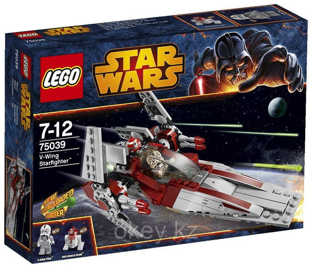 LEGO Star Wars: Звездный истребитель V-Wing 75039