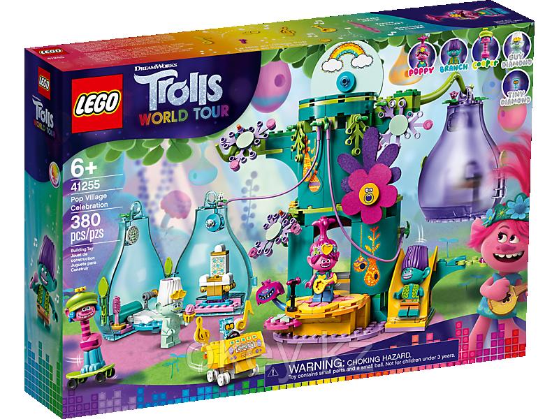 LEGO Trolls: Праздник в Поп-сити 41255