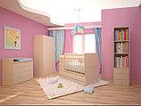 """Кроватка-трансформер детская Фея """"1100"""" венге-бежевый, фото 4"""