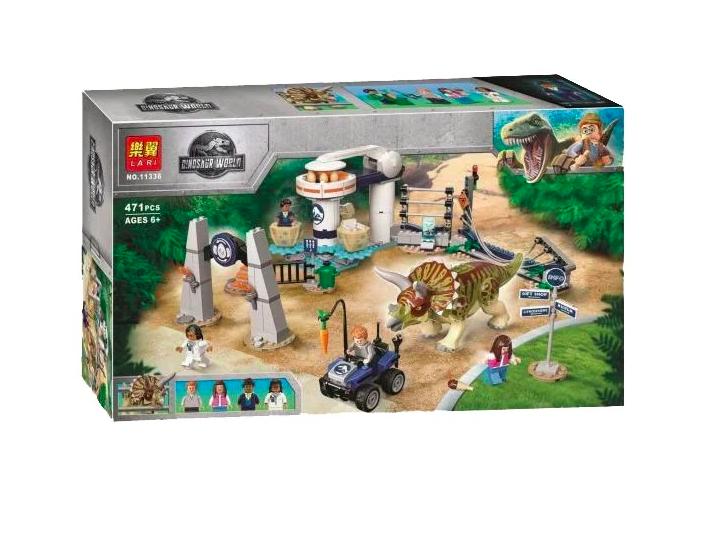 Конструктор лего динозавр Нападение Трицератопса - фото 1