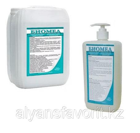 Биомед - жидкое мыло для рук антибактериальное (бактерицидное). 1 литр .РК, фото 2