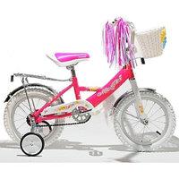 "MARS Велосипед 12"" С1201 neon pink GIRL (темно-розовый)"
