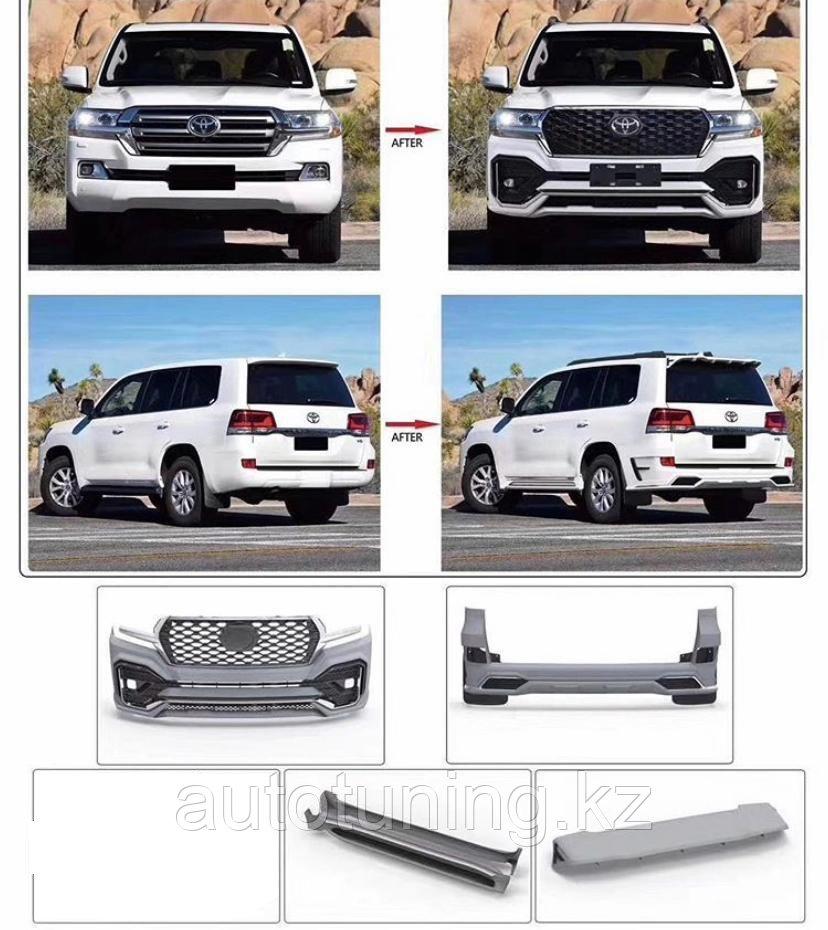 Эксклюзивный обвес EWAN design на Toyota Land Cruiser 200  c 2016 г.  и выше!