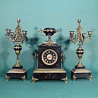 Часовой гарнитур в стиле Наполеона III Часовая мастерская S. Marti
