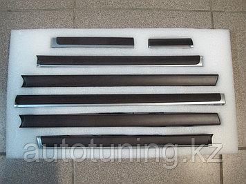 Деревянные вставки в салон с подсветкой дизайн 2020 Toyota Land Cruiser 200 2007-2020
