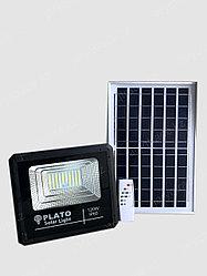 Светодиодный прожектор на солнечной батарее PLATO 120 W, 6500K