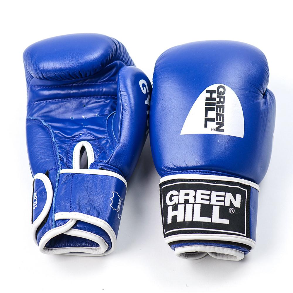 Перчатки боксерские GREEN HILL (Синий)
