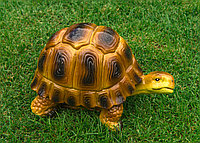 Садовая фигурка из гипса Черепаха 17х17х25 см