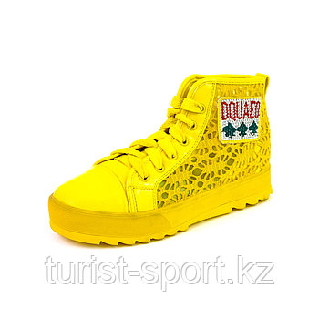 Ботинки желтые