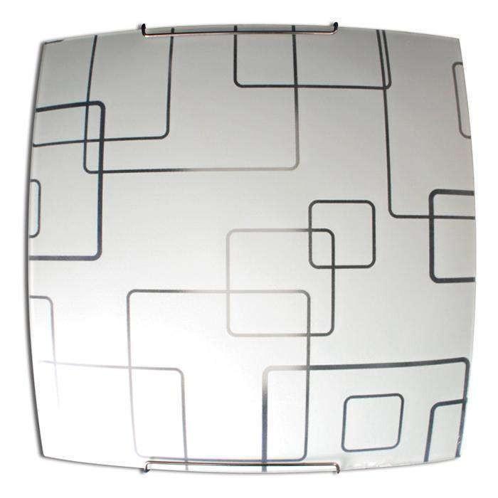 Светильник 300*300 Оазис НПБ 09-60-003  матовый белый/крепеж хром ИУ MAXEL 02606