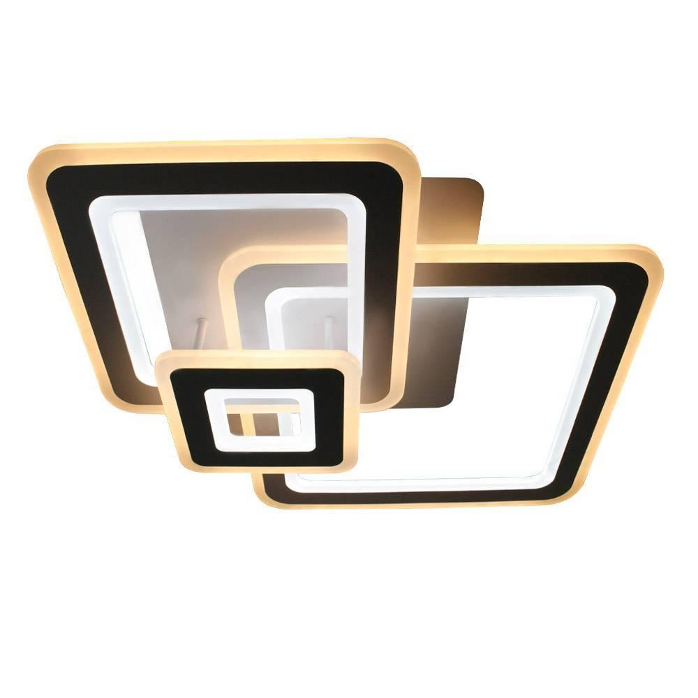 Управляемый светодиодный светильник TRIPLEX SQUARE 124W S-700/600-WHITE/WHITE-220-IP44