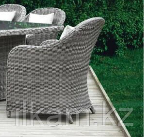 0232 Комплект плетенной мебели стол и 6 кресел ФАНСТЭ, фото 2