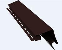 Угол наружный 5х5 х3050 мм Коричневый Vinylon