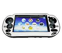 Чехол защитный алюм-металл Sony PS Vita Different Material Case Protective Case, серебряный, фото 1