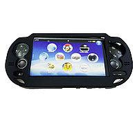 Чехол защитный алюм-металл Sony PS Vita Different Material Case Protective Case, черный
