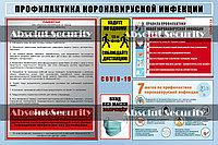 """Информационный стенд """"Профилактика коронавирусной инфекции"""""""