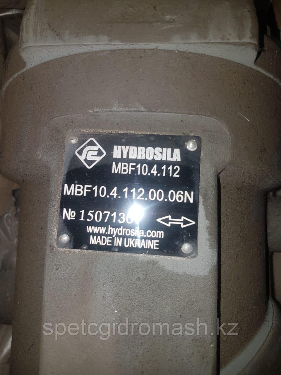 Гидромотор MBF10.4.112.00.06N аксиально-поршневой, нерегулируемый, вал шлиц., реверс