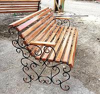 Скамейка кованная, парковая.Каждый  заказ индивидуален.