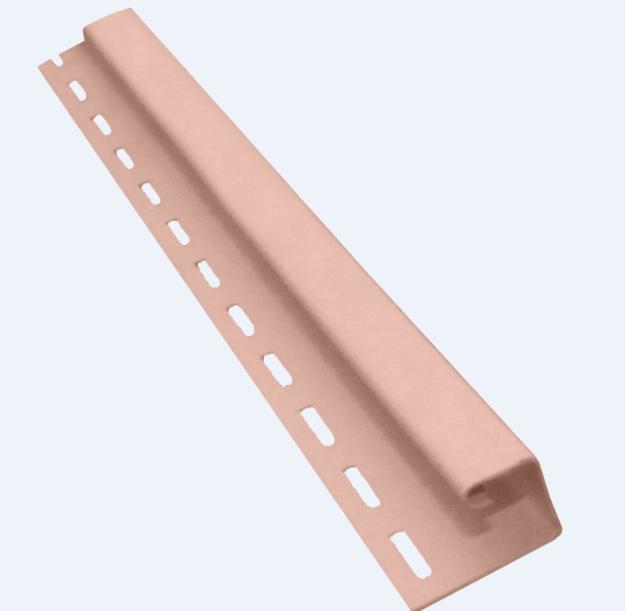 Профиль J 3660 мм Чайная роза Vinylon