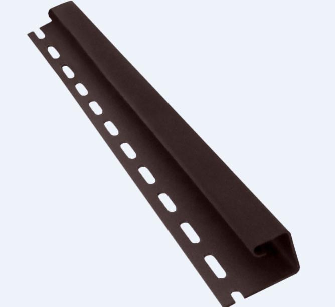 Профиль J 3660 мм Коричневый Vinylon