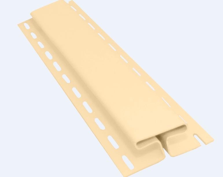 Профиль H соединительный 3050 мм Ваниль Vinylon