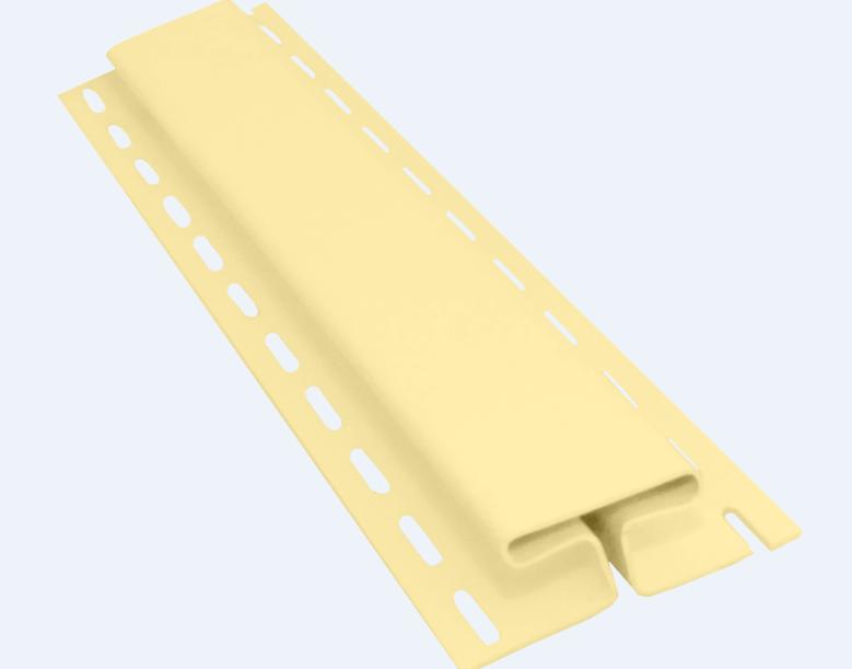 Профиль H соединительный 3050 мм Кремовый Vinylon