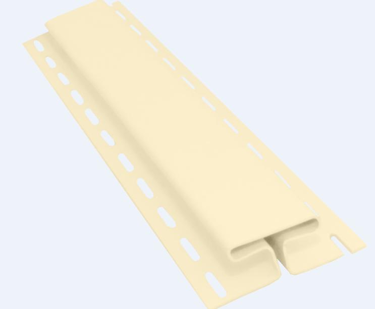Профиль H соединительный 3050 мм Птичье молоко Vinylon