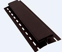 Профиль H соединительный 3050 мм Коричневый Vinylon