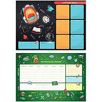 """Расписание уроков с расписанием звонков A3 ArtSpace, """"Пиши-стирай. School"""" 296136"""