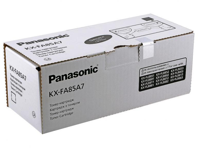 Струйный картридж Panasonic KX-FA85A7 Тонер-картридж