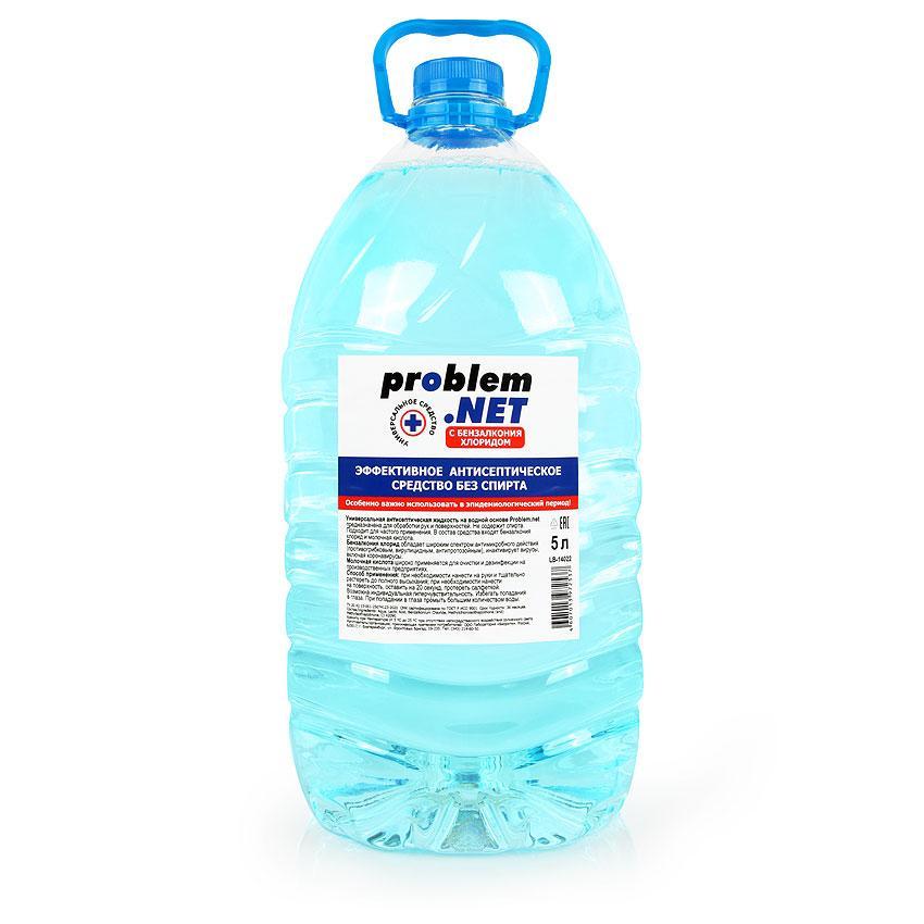 Жидкость антисептическая PROBLEM.NET бутылка пэт 5 л