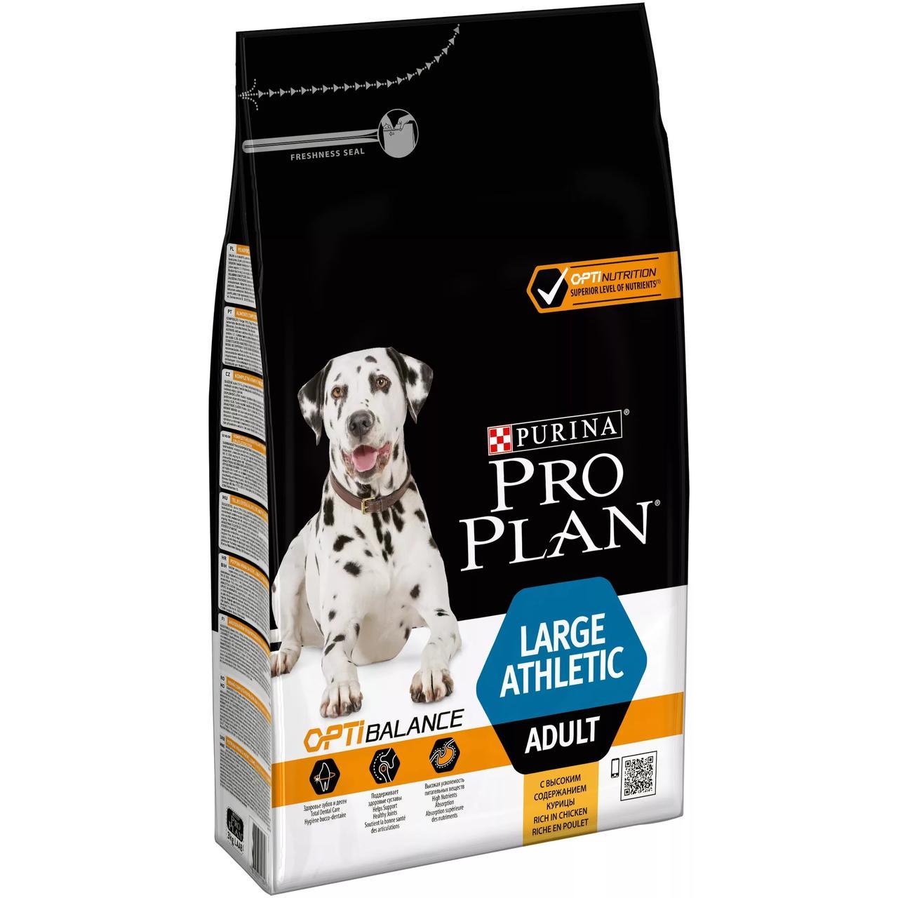 Корм для взрослых собак Проплан крупных пород